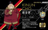 Eleven Licence Zhao Jinyun pour Inakuni Raimon