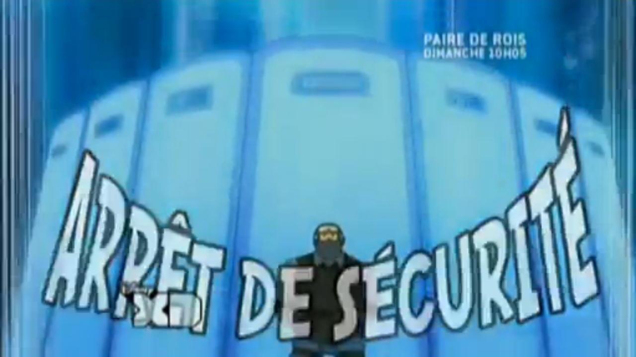 Arrêt de Sécurité