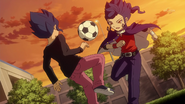 Yuuichi And Kyousuke Playing HQ