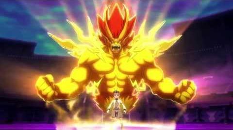Inazuma_Eleven_GO_VS_Danball_Senki_W_(イナズマイレブンGO_vs_ダンボール戦機W)_Majin_Great_(魔神グレイト)_HD