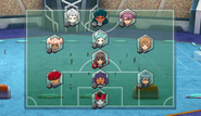 El Dorado Team 02's formation after changing keepers