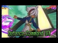 Inazuma Eleven GO Chrono Stones - Bobine Électrique (Ordre de Défense 03)