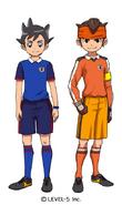 Maillots Inazuma Japan (Orion)