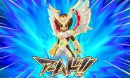Majin Pegasus Arc Armed game