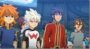 Inazuma Eleven team Galac