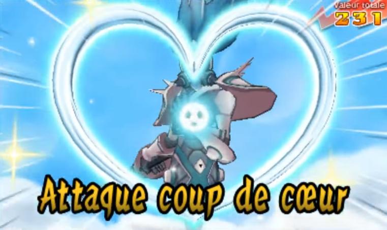 Attaque Coup de Cœur