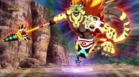 Inazuma Eleven GO Chrono Stone 32 - Taiko no Senshi Jaggerwock 太鼓の達人戦士ジ HD
