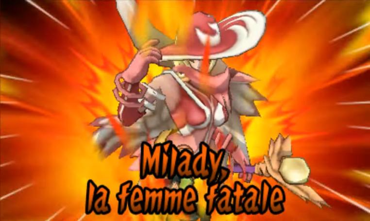Milady, La Femme Fatale