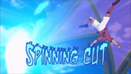 Spinning Cut Ares English