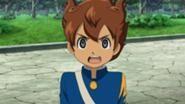 Arion in zijn school uniform