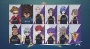 Seishou Gakuen équipe