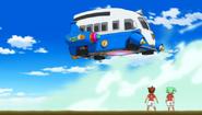 Première apparition du Transporteur Temporel Inazuma