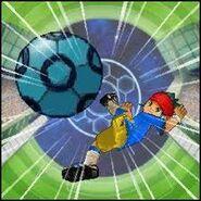 Endou in element soccer