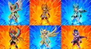 Varias armaduras (VJ)