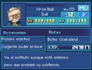 Ficha Vince Bull