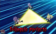 Triángulo perfecto 3DS 10