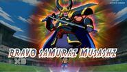 Bravo samurai musasi