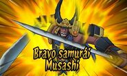 Bravo samurai Musashi 3DS