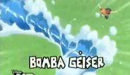 Bomba geiser