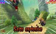 Salto explosivo 3DS 8