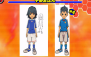 Diseño beta (Uniforme de Inazuma Japon)