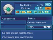 Ficha Tim Platton