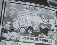 Protocolo Omega en el Manga