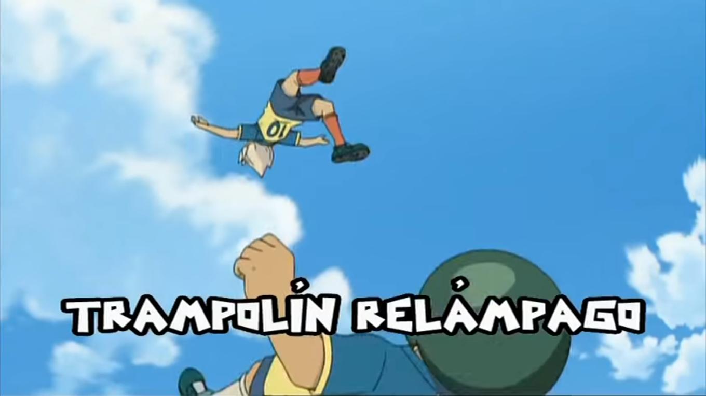 Trampolín Relámpago