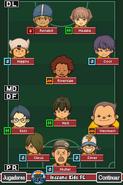 Formación de Inazuma Kids (VJ)