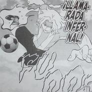 Llamarada atomica manga