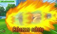 Cabezazo cohete 3DS 5