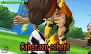 Cabezazo cohete 3Ds 2