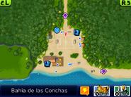 Bahía de las Conchas Minimapa