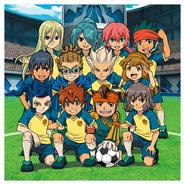 Inazuma Best Eleven team picture
