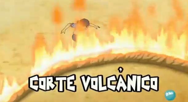 Corte Volcánico