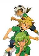 Adrian, Cham y Steve