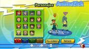 Inazuma Eleven Strikers (Selección de personaje para el Entrenamiento).jpg