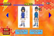 Diseño beta (Austin Y el uniforme de Inazuma Japon)