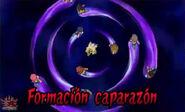 Formación caparazón 3DS 3