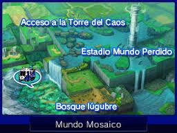 Mapa del Mundo Mosaico