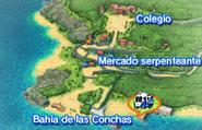 Bahía de las Conchas Mapa