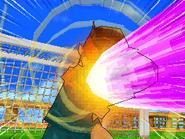Primer intento del Superpuño Invencible (VJ)