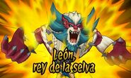León rey de la selva 3DS