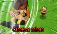 Cabezazo cohete 3DS 3