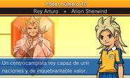 Descripción de Arion + Rey Arturo