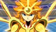 Sol y su armadura