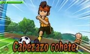 Cabezazo cohete 3DS 1