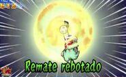Remate rebotado 3DS