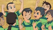 Austin en su viejo equipo(Anime)
