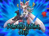 Doncella Ladina, Daji